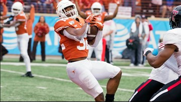 HIGHLIGHTS: Texas Longhorns beat Texas Tech Red Raiders on senior day, 49-24