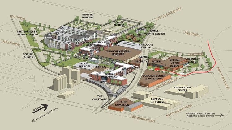 Haven for Hope Campus Map