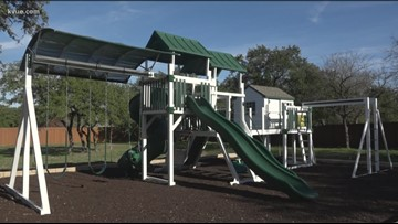 Georgetown family fighting to keep son's playset