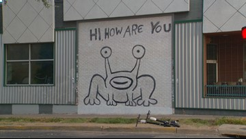 Thai, How Are You has closed, but Daniel Johnston's mural will endure