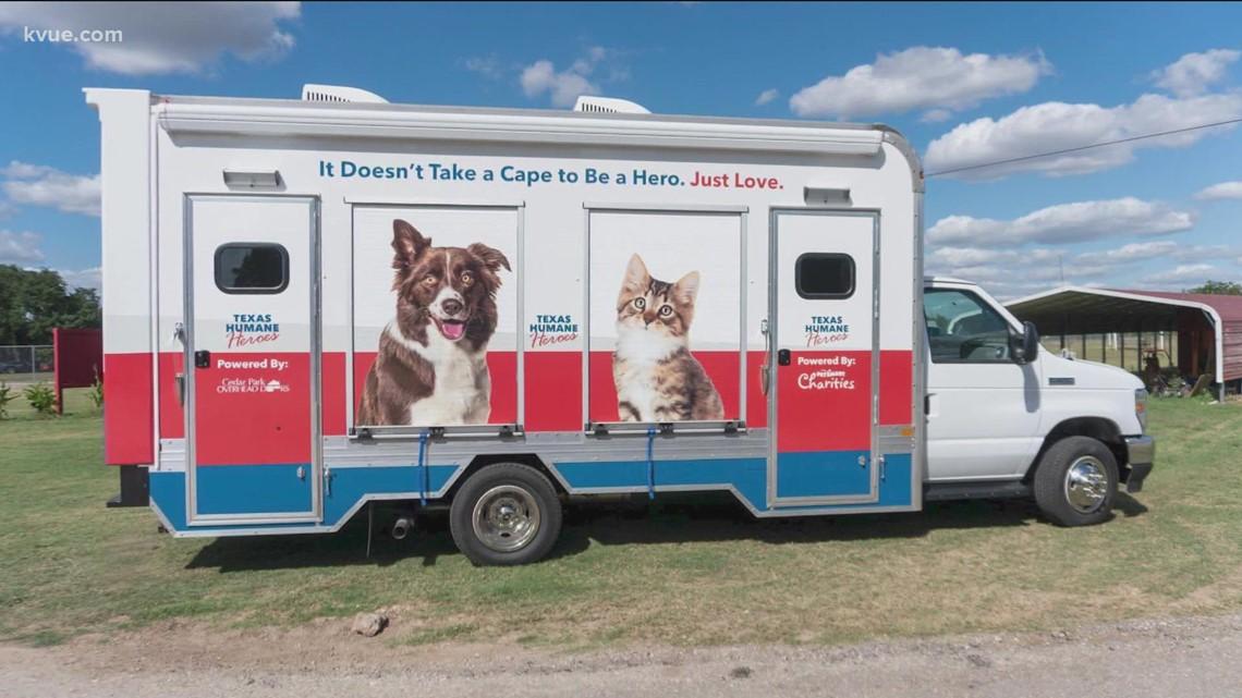 Texas Humane Heroes launching mobile pet adoptions