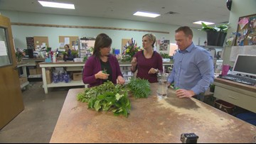 RAW: Creating the ultimate bouquet at Freytag's Florist