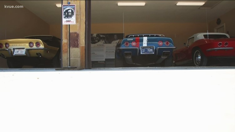 Austin man collects former astronauts' Corvettes
