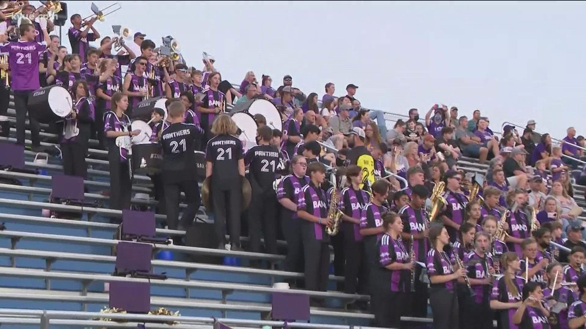 KVUE's Friday Football Fever Band of the Week – Oct. 1, 2021