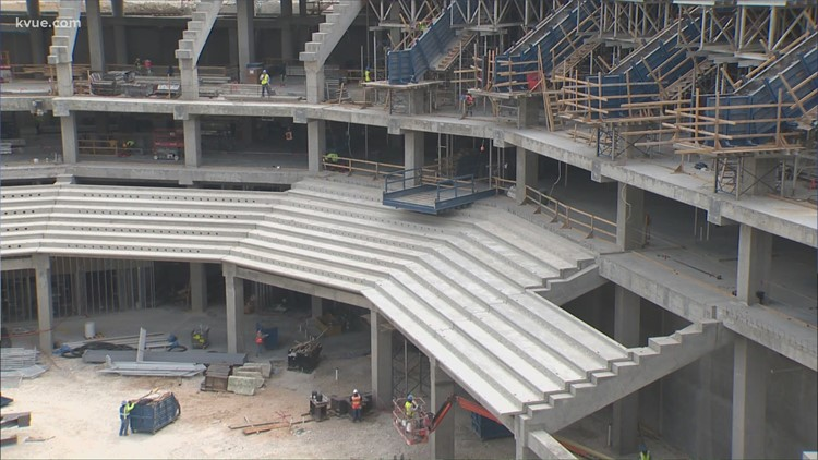 A look inside the new Moody Center at UT