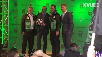 Austin FC named as Austin's first major league sports team