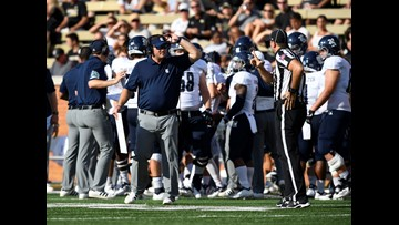 Rice Owls' football coach paid a visit to Austin