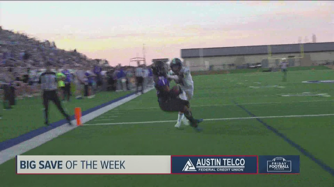 Big Save of the Week: Texas high school top play nominees – Sept. 24, 2021