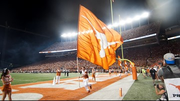Texas football game against Oklahoma State to air on KVUE
