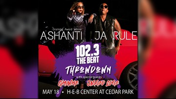 Ashanti, Ja Rule, Ginuwine coming to Cedar Park this May
