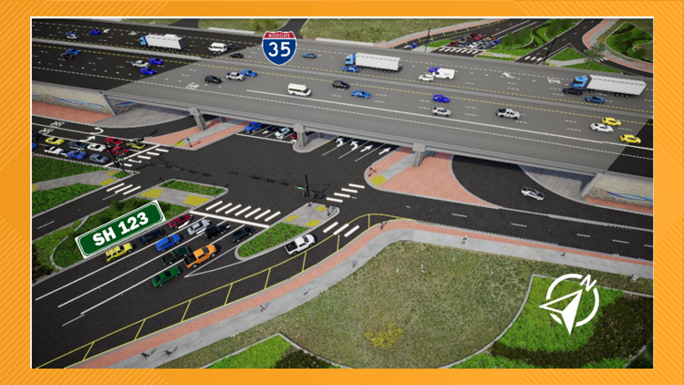 San Marcos, Hays County break ground on I-35 at SH 123 project