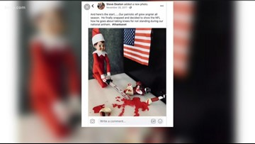 Williamson County residents call for action over commander's social media posts