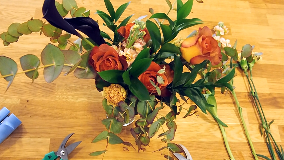Learn floral arranging while sipping cocktails at The Flower Social in Austin
