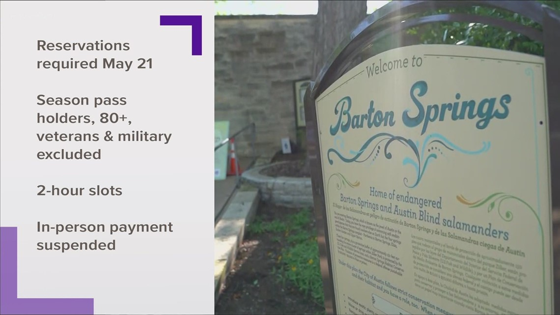 Barton Springs Pool to start enforcing reservations again
