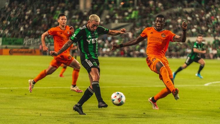 HIGHLIGHTS: Austin FC wins 1st Copa Tejas match against Houston Dynamo FC, 3-2