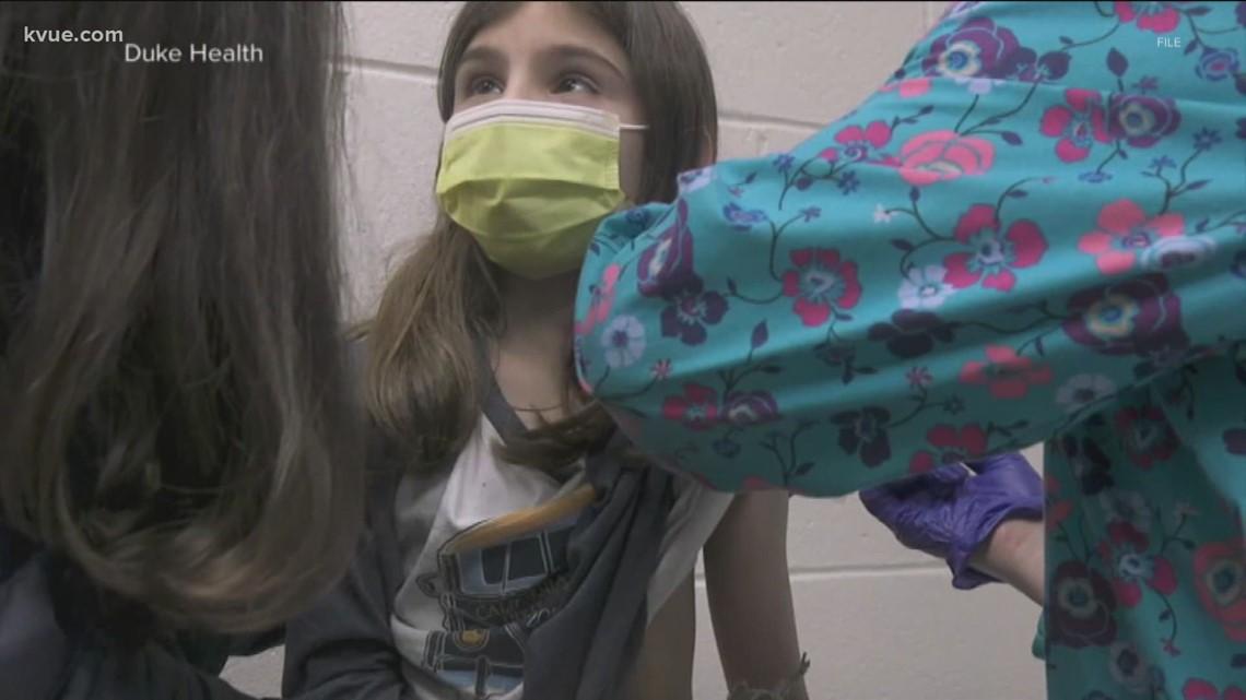 Austin Regional clinic hosting Pfizer vaccine trial for children
