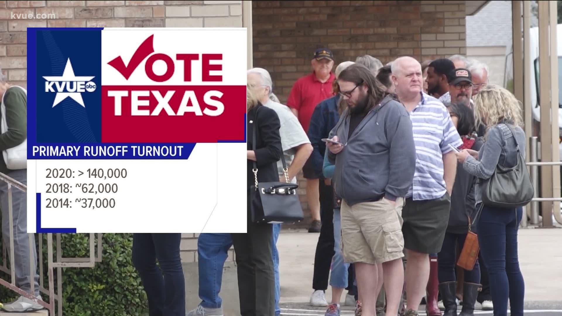 Texas Democratic Primary Runoff Election U S House District 31 Kvue Com
