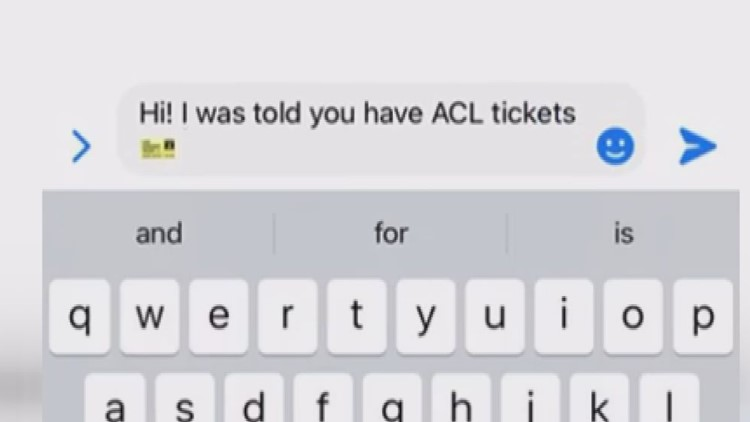 Woman gets scammed out of $1,000 trying to buy ACL tickets online