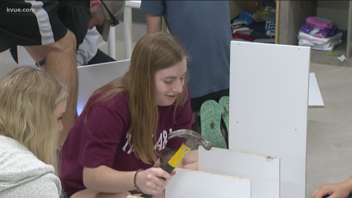 Coronavirus: Students give back to Austin community after overseas service trip canceled