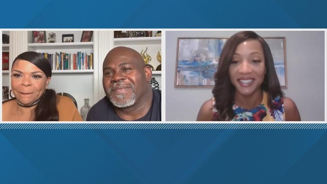 Tamela and David Mann talk new music, 'Assisted Living' season two