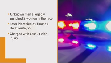 Man accused of punching women in face during ACL Fest