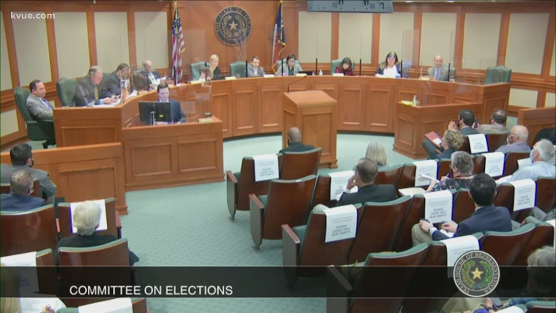 Texas lawmakers take action on election bills