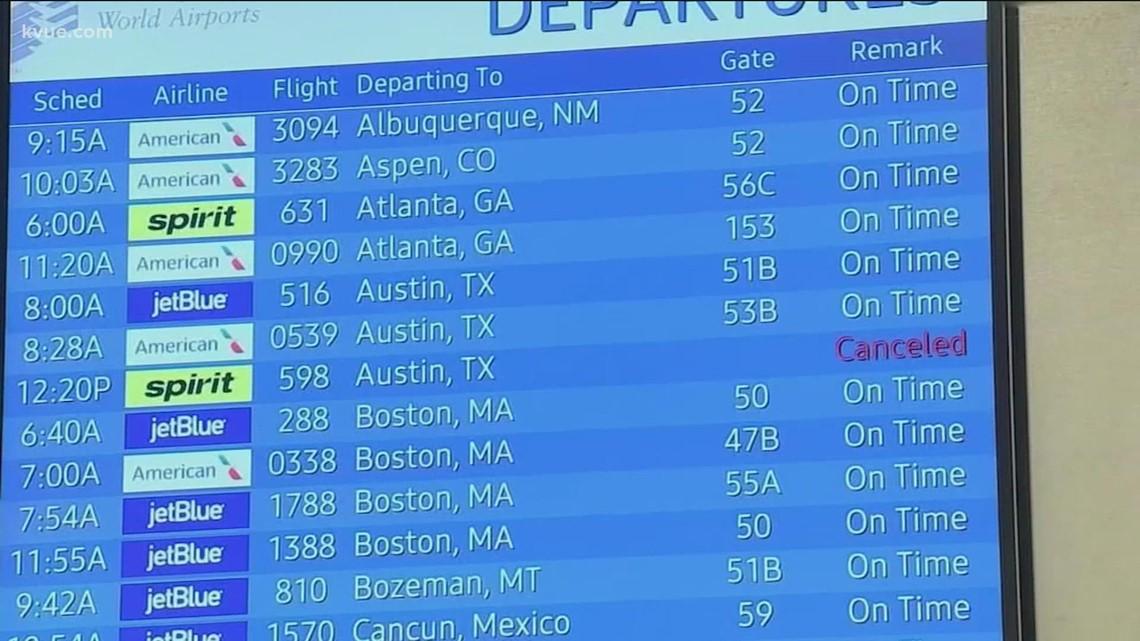 Spirit, American Airlines experiencing flight delays