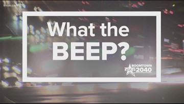 What the Beep: What's the rule for motorcyclists driving between traffic lanes?
