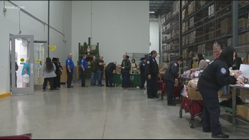 Food bank opens fair for furloughed federal workers