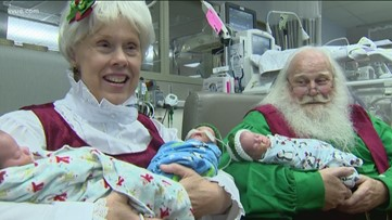 Christmas comes early for Ascension Seton NICU babies