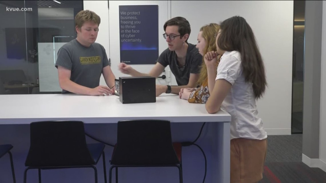 Austin interns hacking into products – so criminals can't