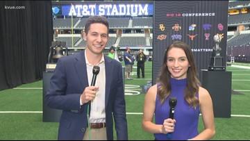 Big 12 Media Days underway in Arlington