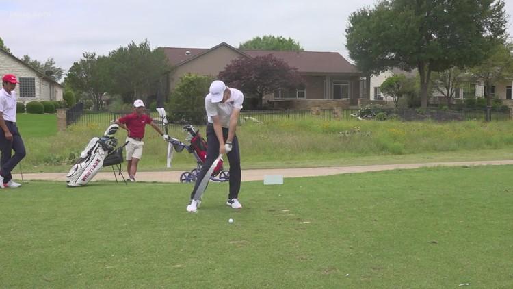 Westlake leads 6A state golf tournament