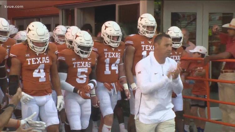 Texas Longhorns host Texas Tech Red Raiders Saturday, Sept. 25