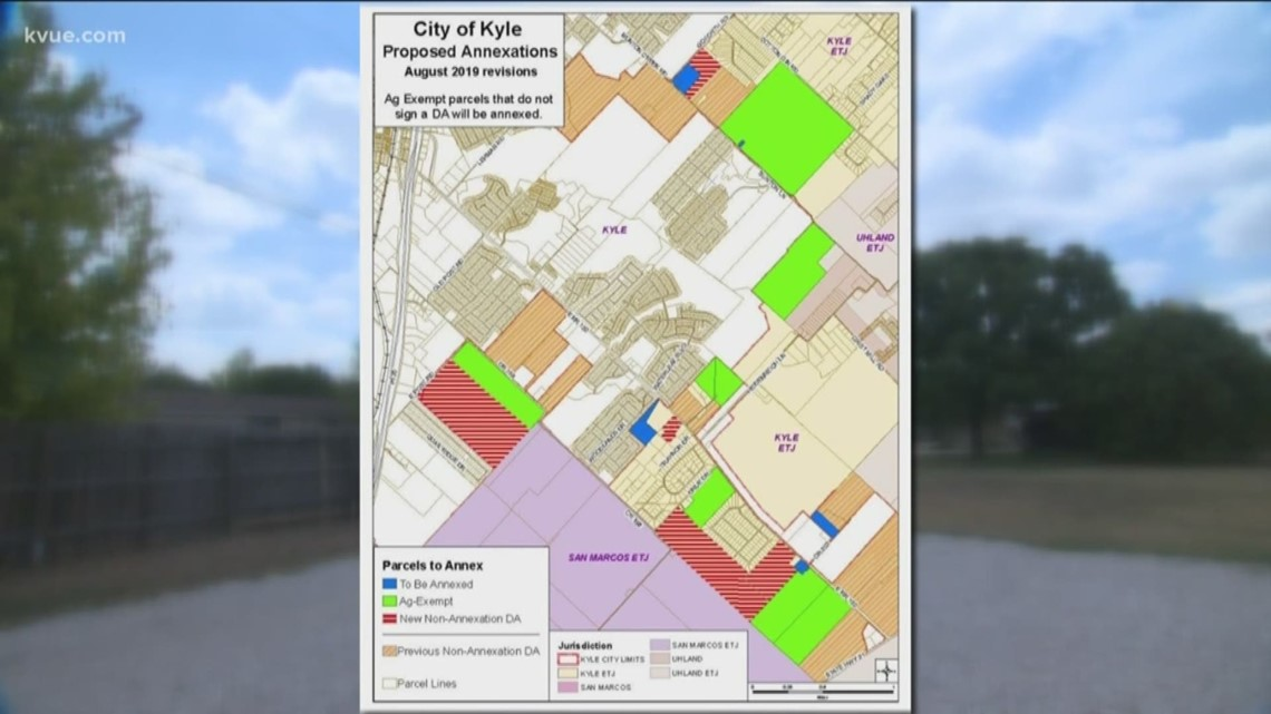 Kyle residents worried over possibility of annexation | kvue com