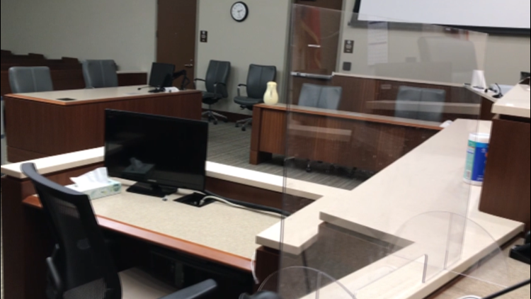 Jury trials slowly resuming in person for Travis, Hays Counties