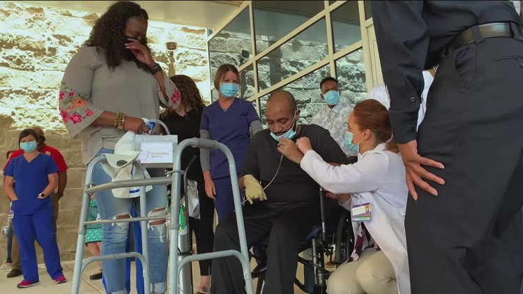 Austin police officer discharged from hospital after fighting COVID for months