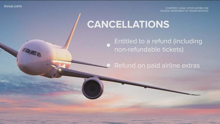 Here is what airlines must do if your flight is canceled