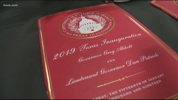 Texas state leaders end Inauguration Day with ball