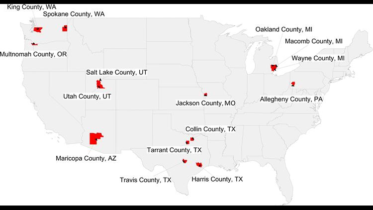 anti-vaccine counties