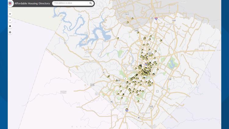 Affordable housing units Austin