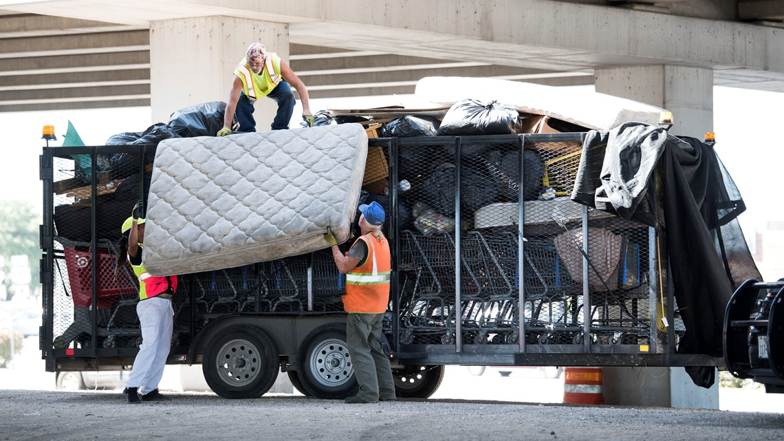 'Send the date & location' | Abbott says TxDOT is still making homeless camping cleanups near roadways