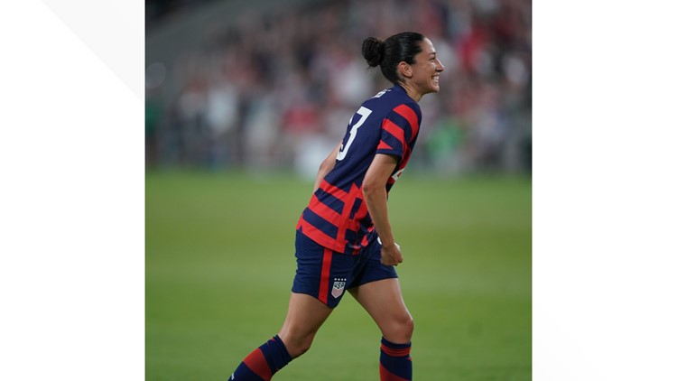 HIGHLIGHTS: USWNT scores 2 goals to defeat Nigeria in Austin, 2-0