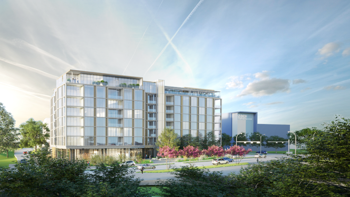 New luxury hotel coming to the shores of Lady Bird Lake