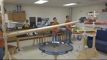 Hutto High School's robotics champs don't plan on giving up title anytime soon