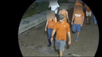 UT police looking for suspect who punched man after Texas-USC game last year