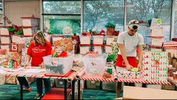 Central Texas teens who've never had a special holiday will receive surprise Christmas gifts