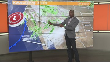 Sunday morning forecast with Meteorologist Jason Mikell