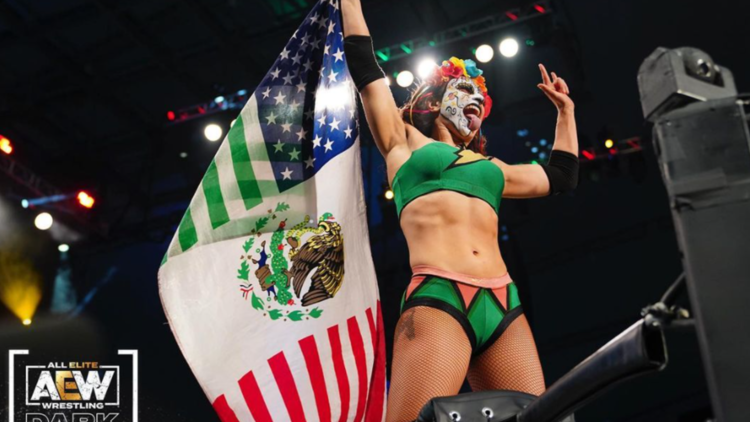 'I was meant to be a wrestler' | Thunder Rosa discusses her Latina heritage