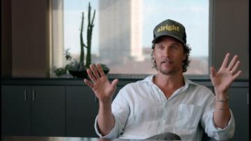 UT hosts screening of Matthew McConaughey's new film 'The Gentlemen'